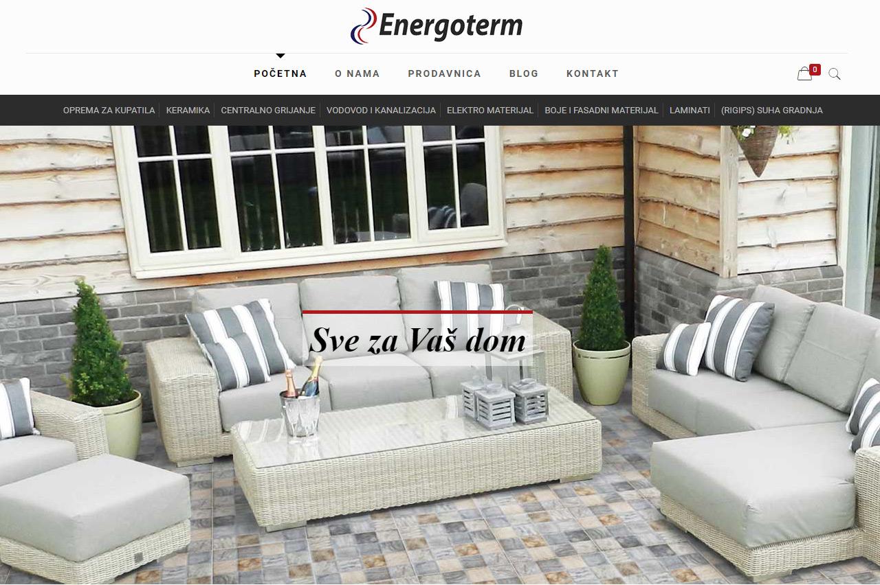Energoterm, Internet prodavnica
