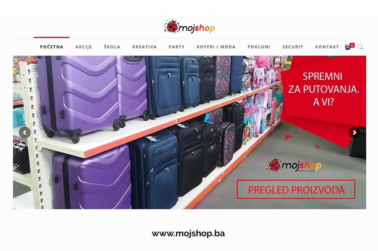 MojShop, Internet prodavnica